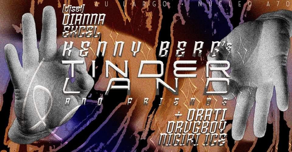[Esgotado] Kenny Berg apresenta Tinderland w/Friends