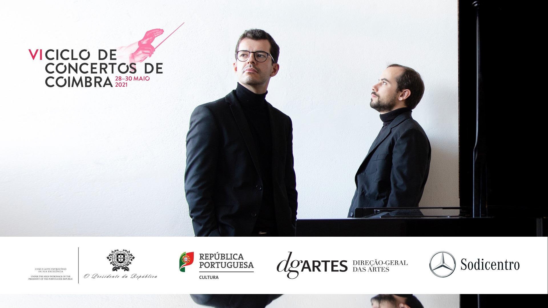 Fantasia e Danças: Recital de piano a quatro mãos pelo H4NDS DUO - Concerto Sodicentro