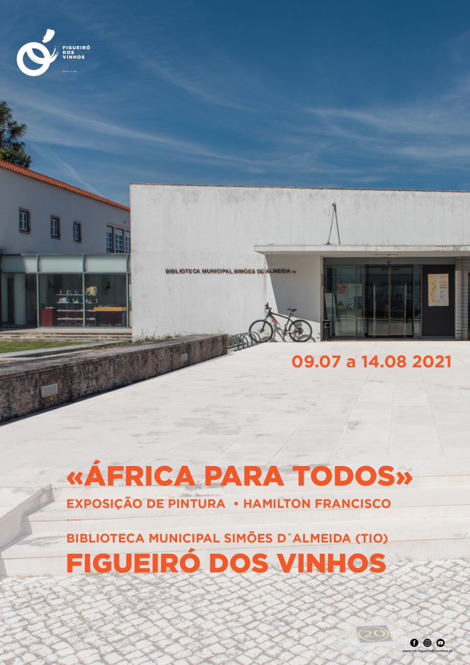 Exposição de Pintura de Hamilton Francisco - Nô pincha! «África para todos»