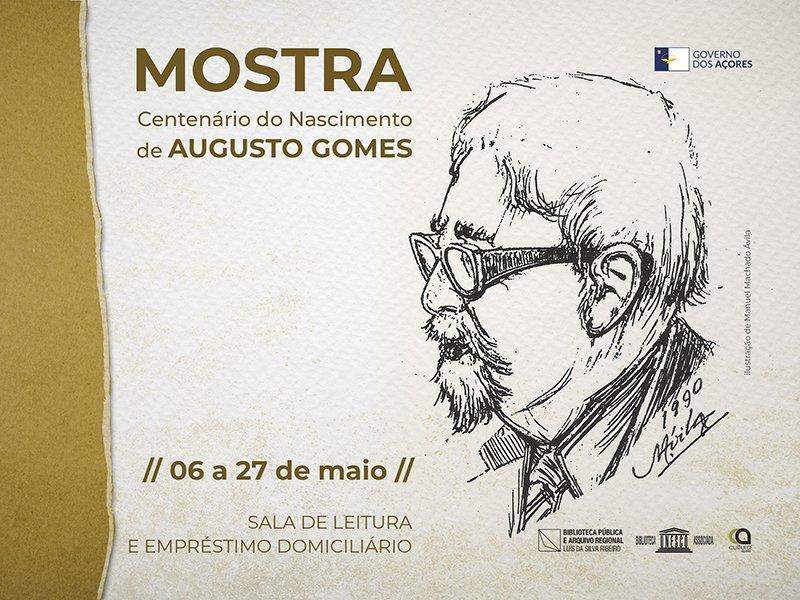 Mostra  - Centenário de Augusto Gomes