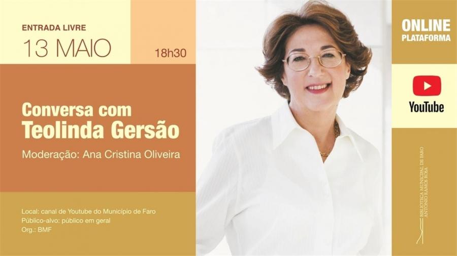 Conversa com Teolinda Gersão