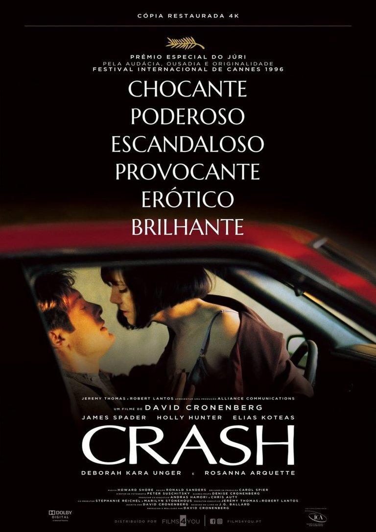 CRASH, de David Cronenberg
