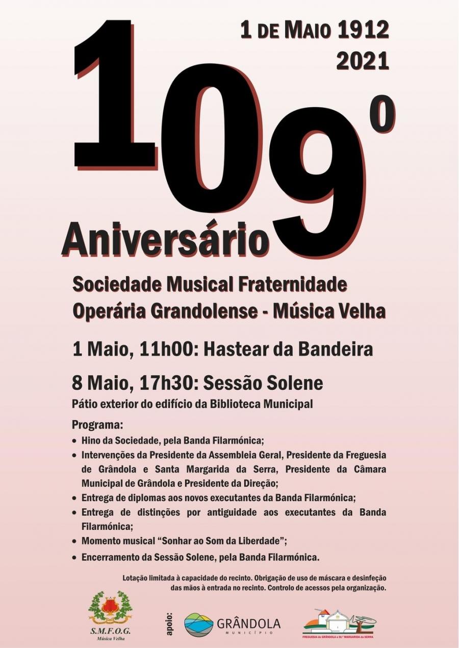 109.º aniversário - SMFOG