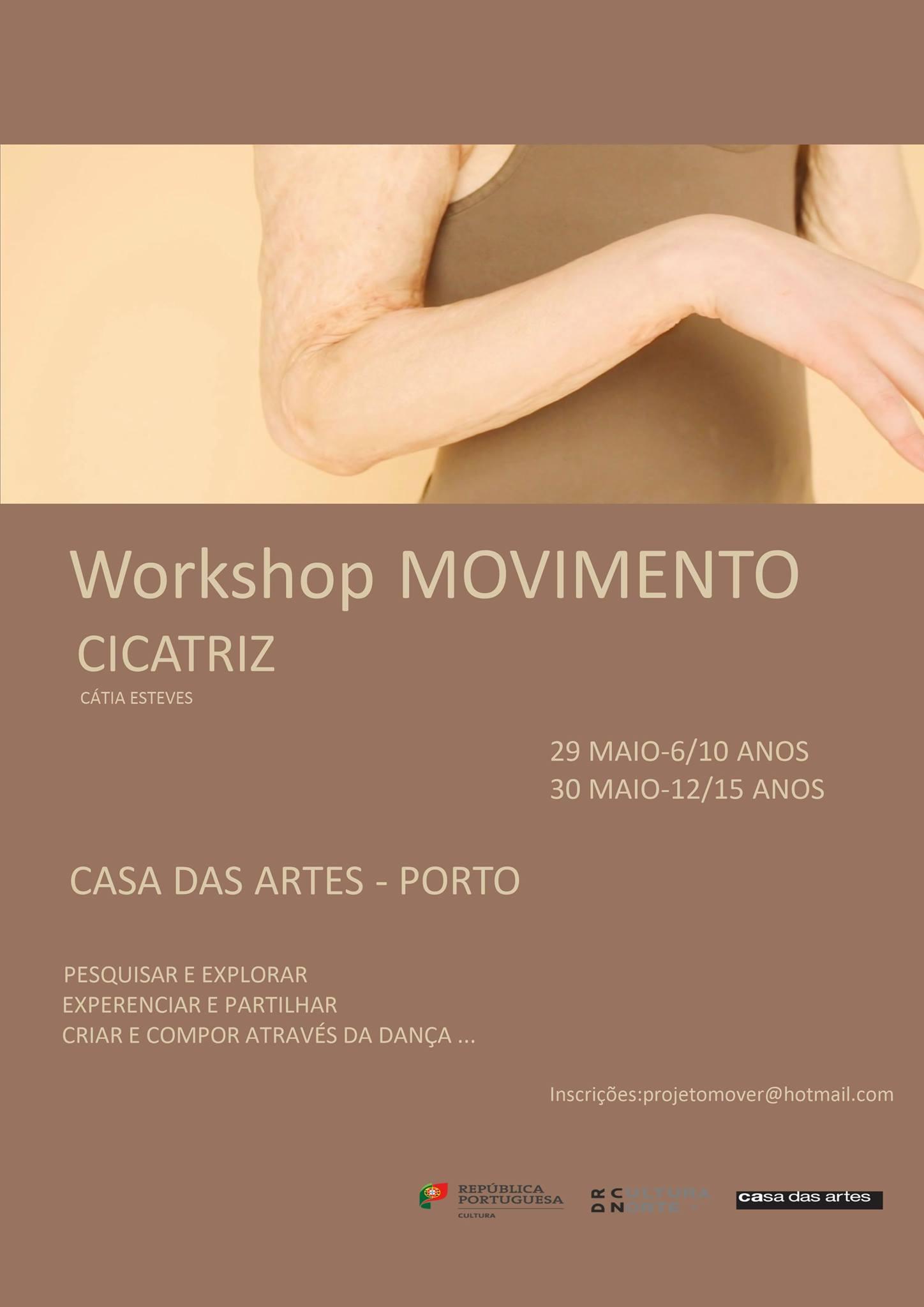 Laboratório de dança | Movimento Cicatriz