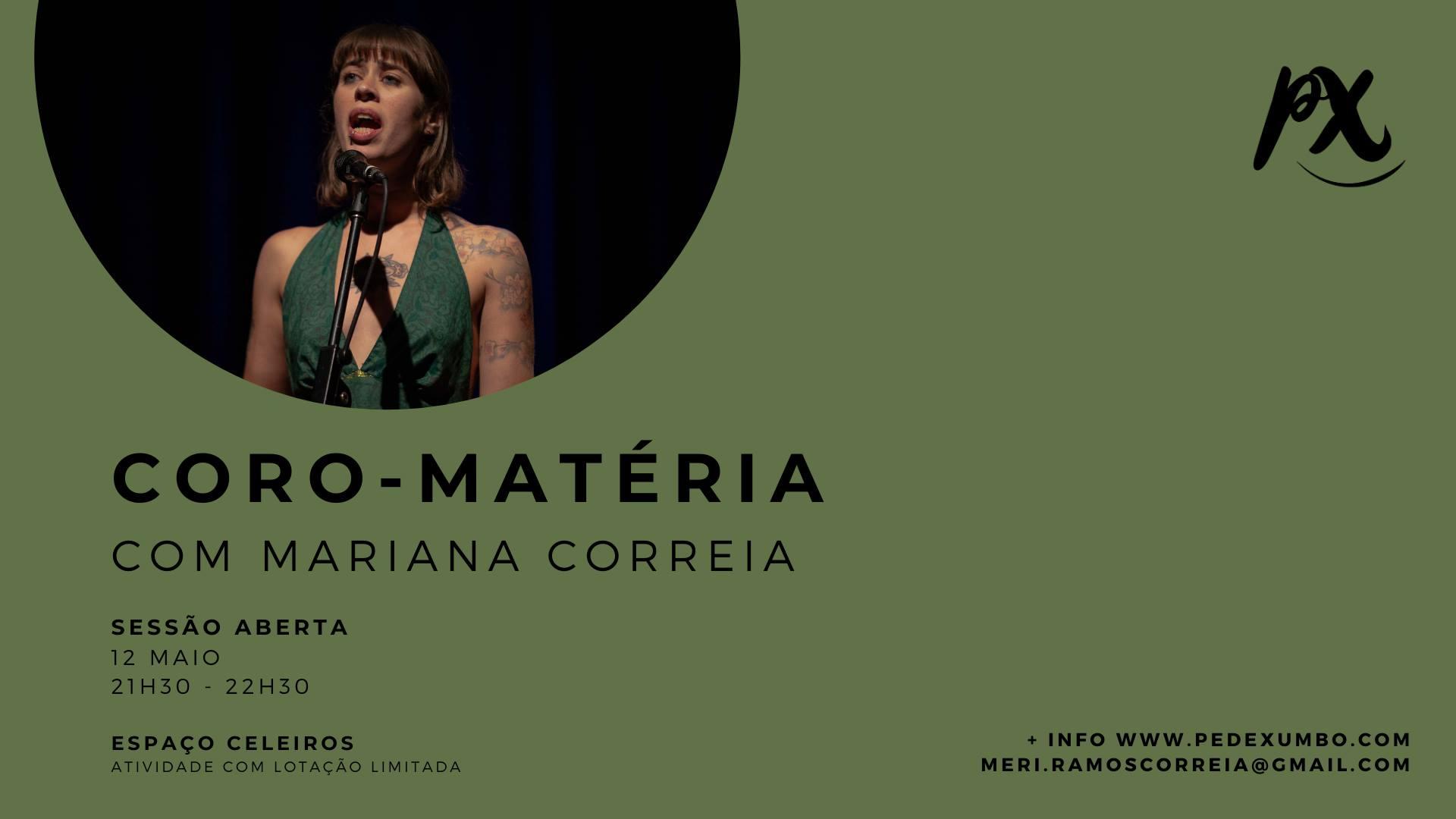CORO-MATÉRIA | Sessão Aberta