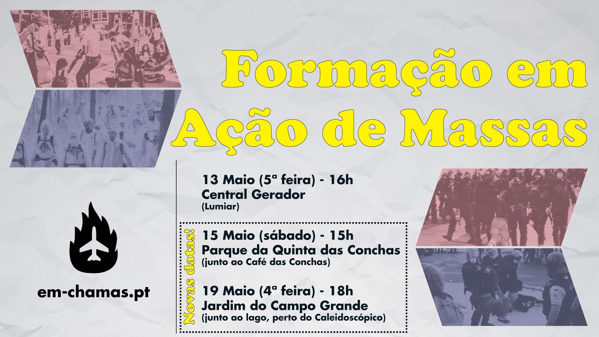Formação em Ação de Massas   19 de Maio
