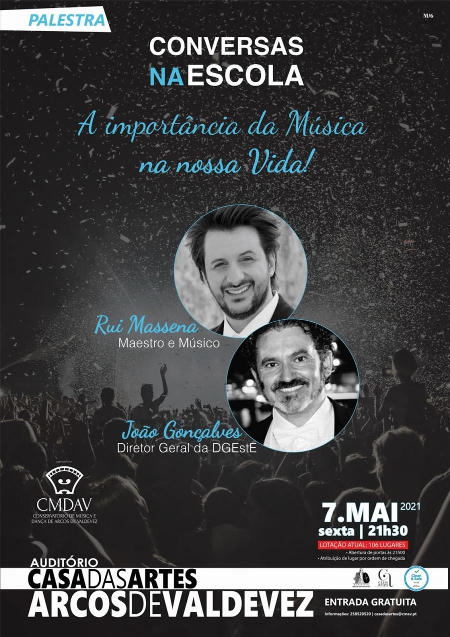 CONVERSAS NA ESCOLA 'A IMPORTÂNCIA DA MÚSICA ...