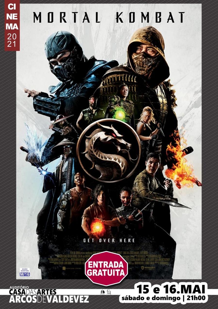 Exibição do filme ' Mortal Kombat'