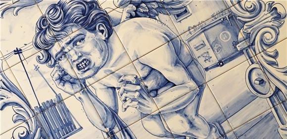 """Oficina: """"Ilustração/Azulejo Figura Avulsa"""""""