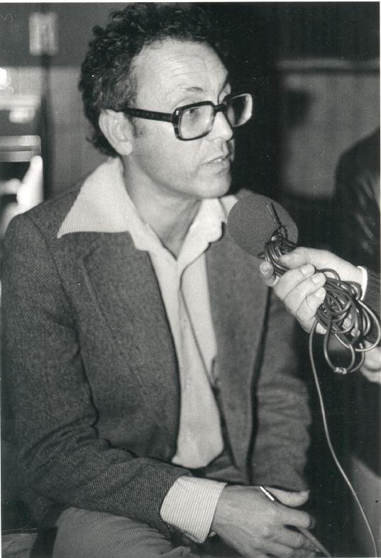 José Ribeiro - sonoplasta, nascido em Valença do Minho em 1938