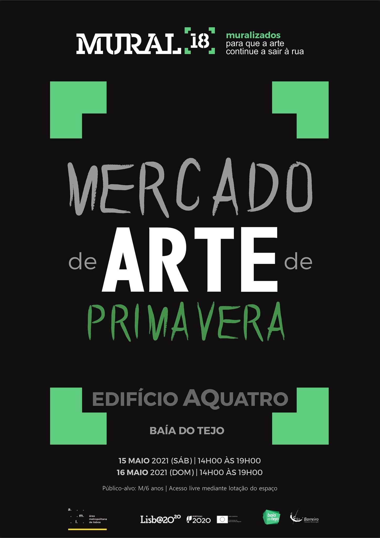 Programação em Rede MURAL 18 | Mercado de Arte de Primavera