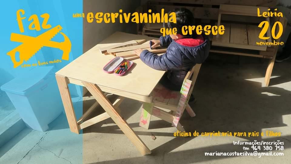 Workshop FAZ uma escrivaninha infantil