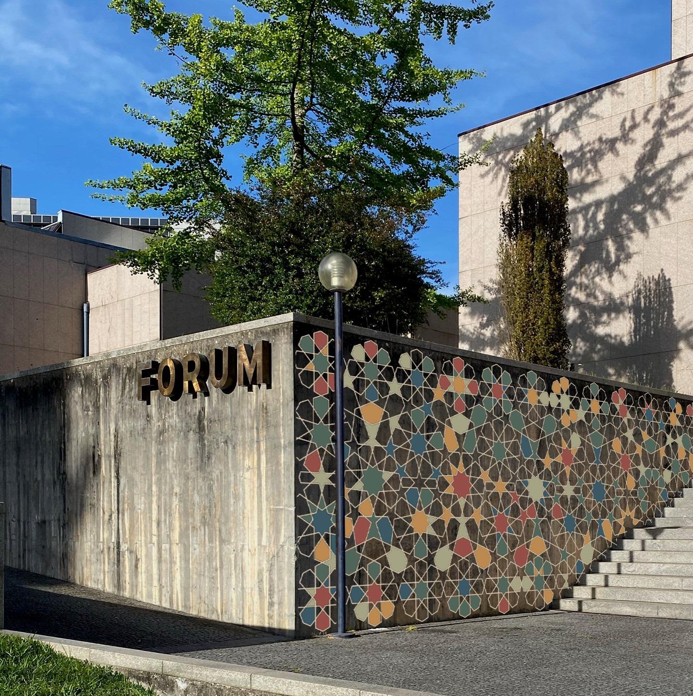 """Oficina - Mural """"Ilustração Sai à Rua - Somos Primavera"""""""