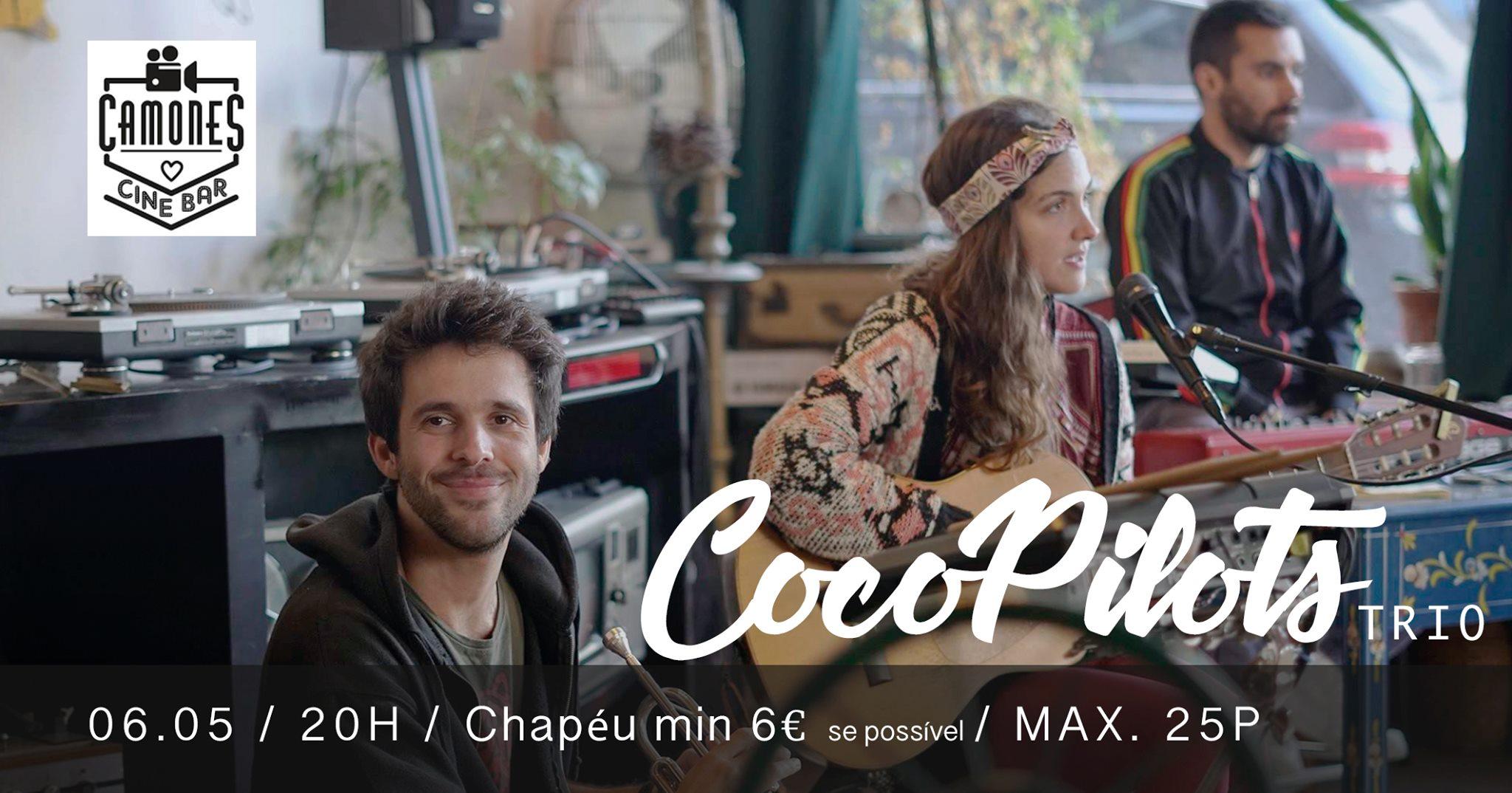 CocoPilots trio no Camones Cinebar