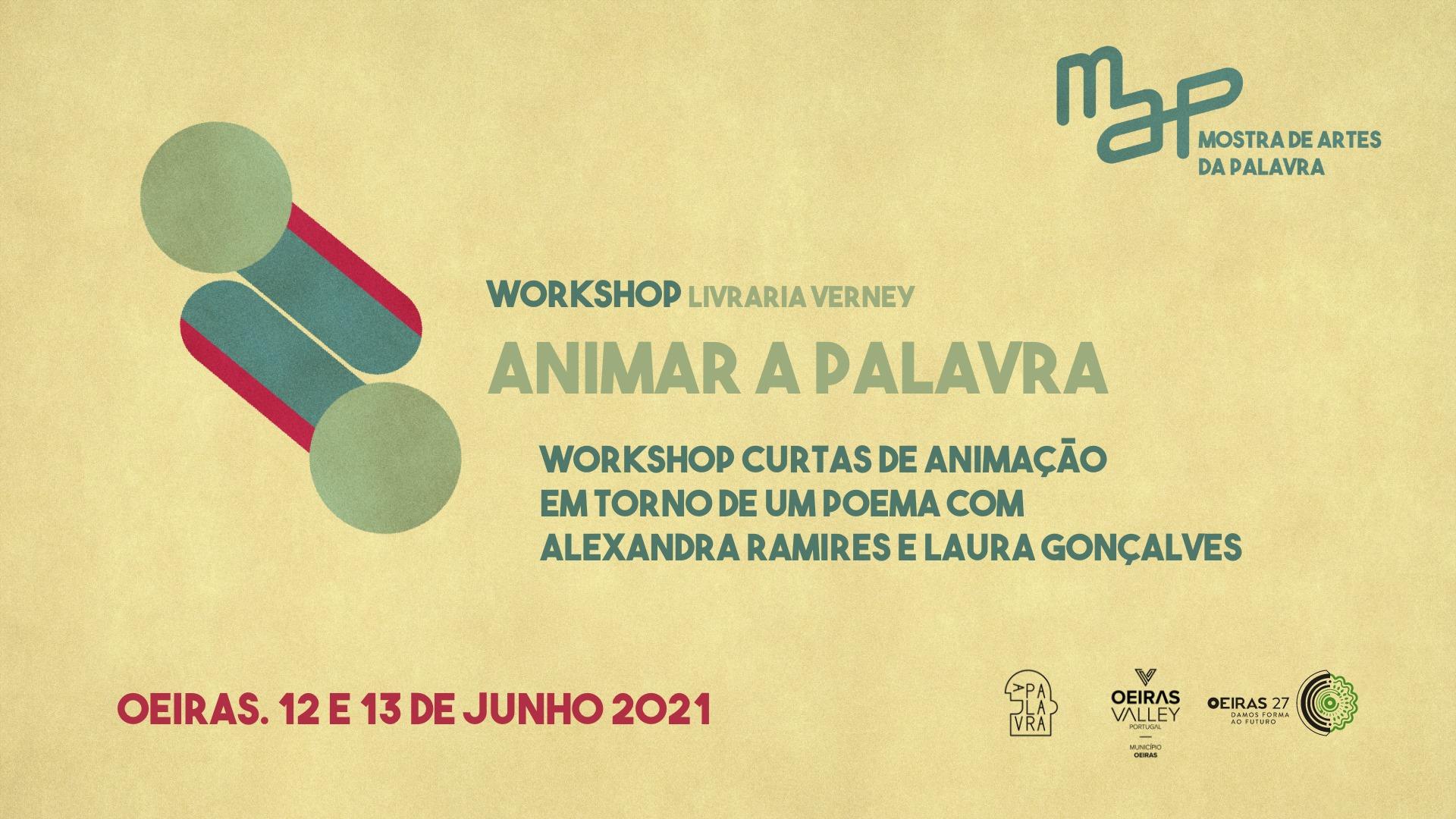 Workshop de Curtas de animação em torno de um poema