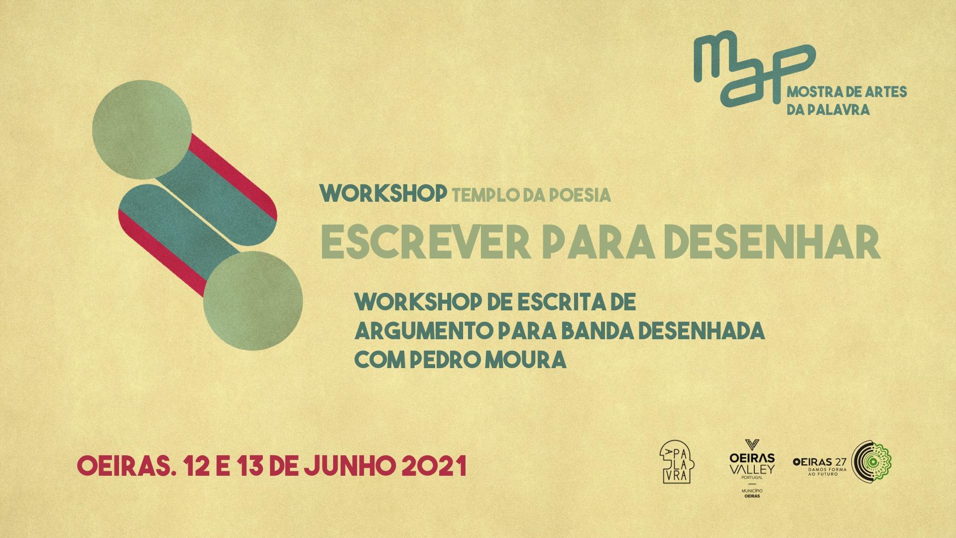 Workshop de Escrita de argumento para Banda Desenhada