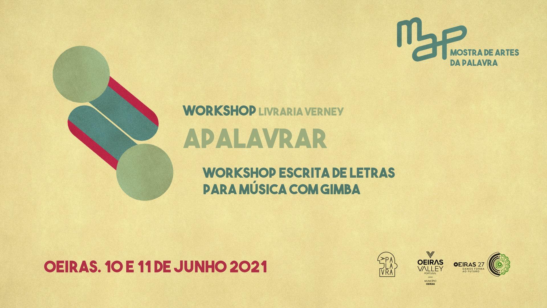 Workshop de Escrita de letras para música: Apalavrar