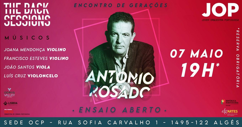 The Back Sessions - Encontro de Gerações - António Rosado e JOP