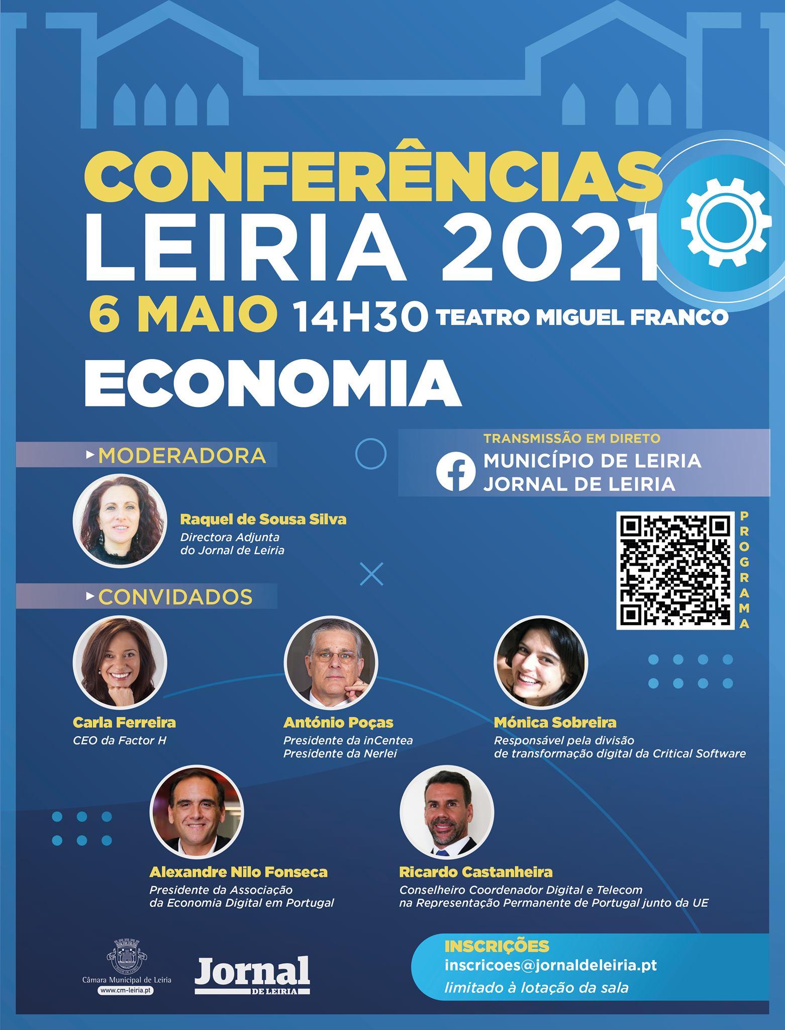 Conferências Leiria 2021   Economia