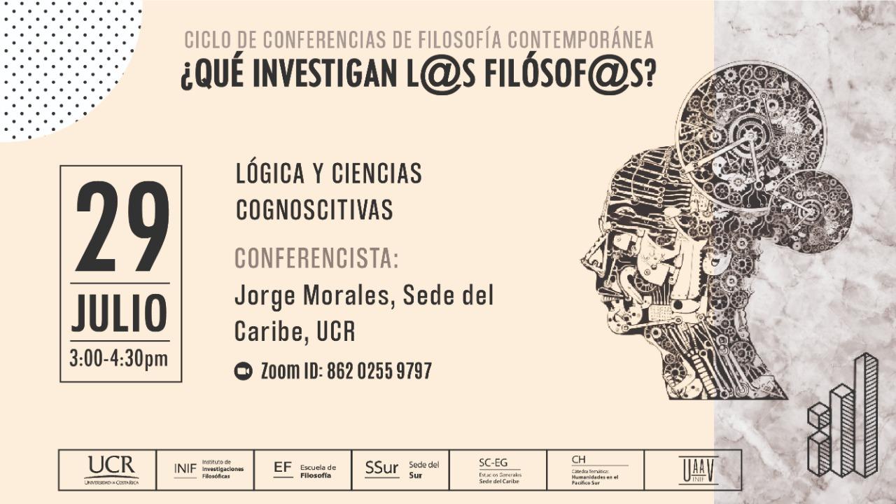 Lógica y Ciencias Cognoscitivas. Jorge Morales