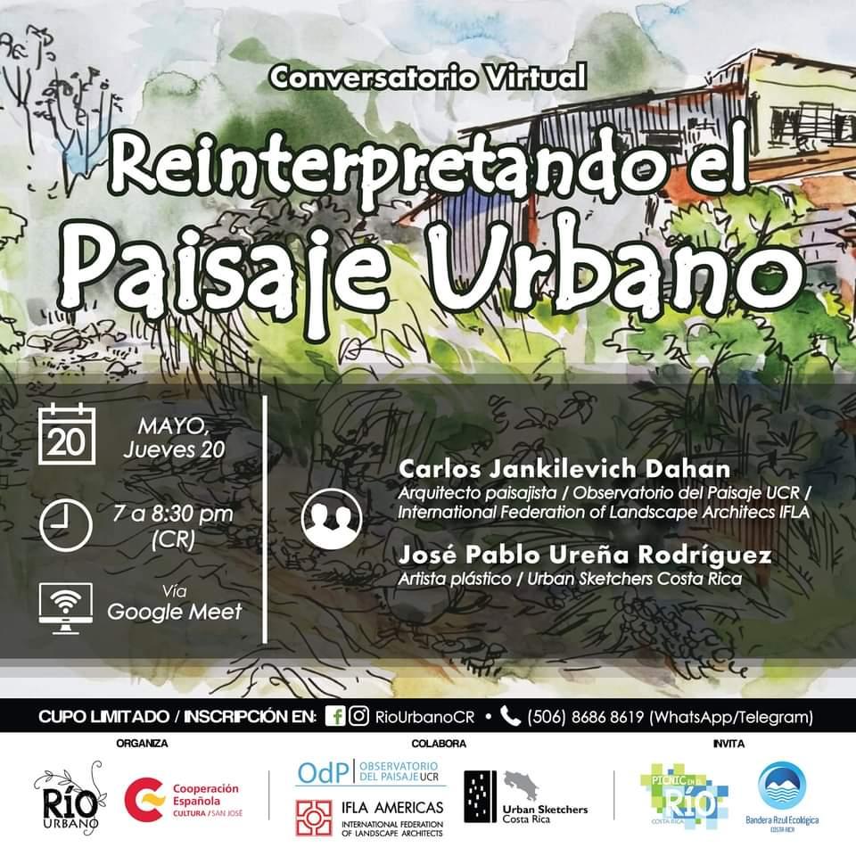 Conversatorio: 'Reinterpretando el paisaje urbano'