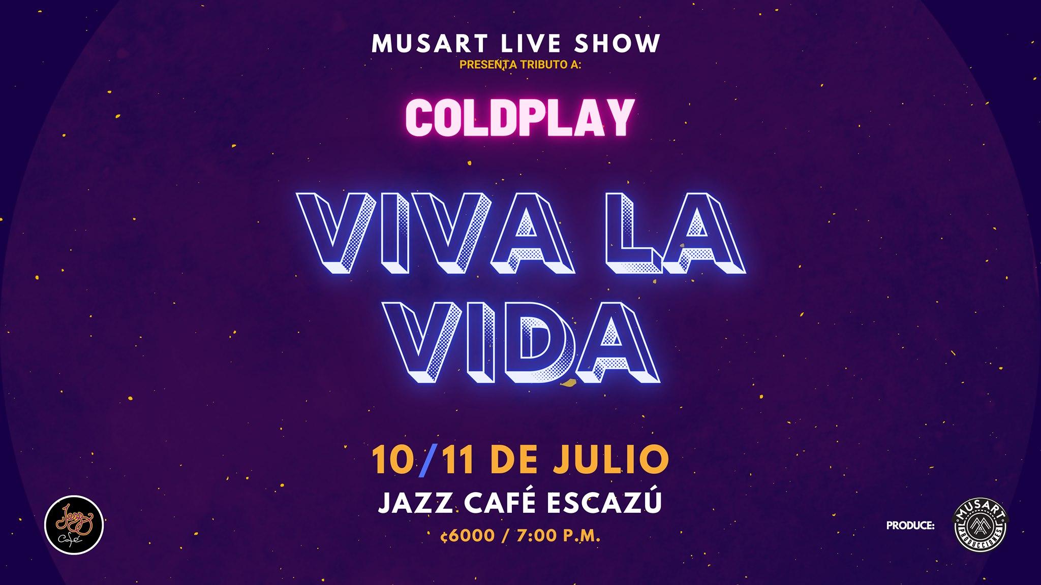 Tributo a Coldplay - Viva La Vida