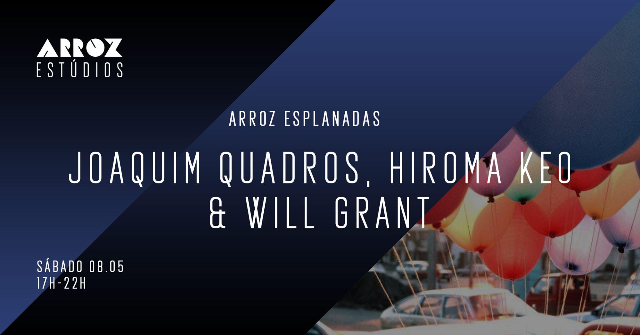 Joaquim Quadros,  Hiroma Keo &  Will Grant