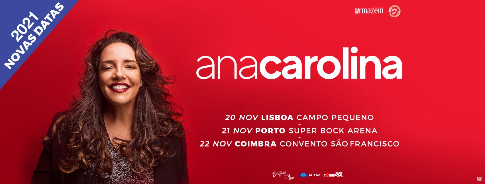 Nova Data: Ana Carolina // Convento São Francisco