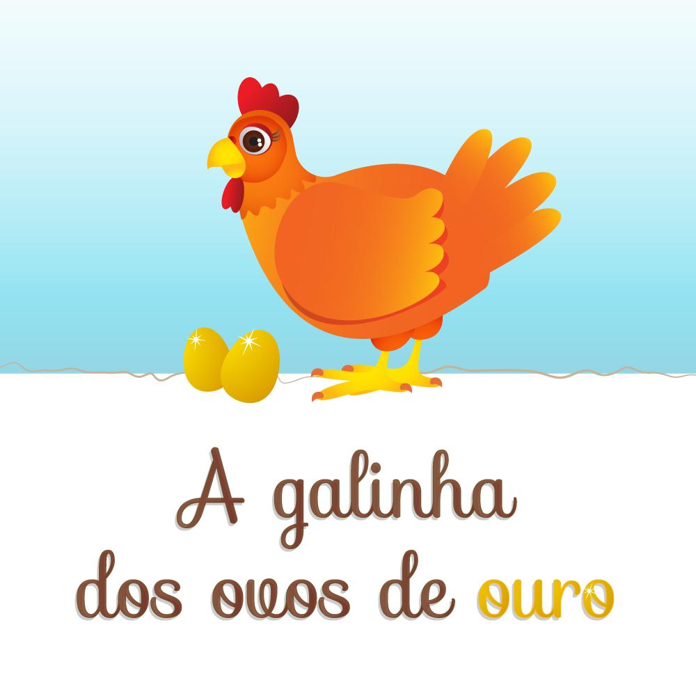 Pipo, e a galinha dos ovos de ouro