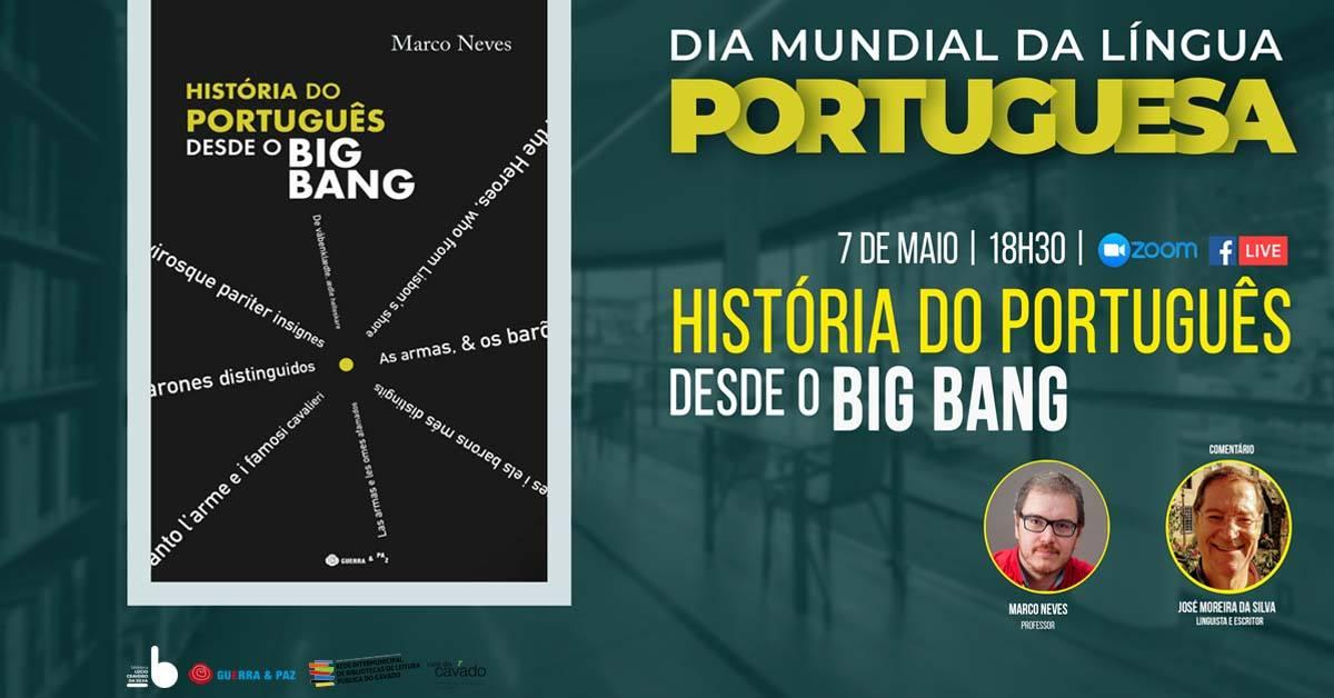 """""""História do português desde o Big Bang"""