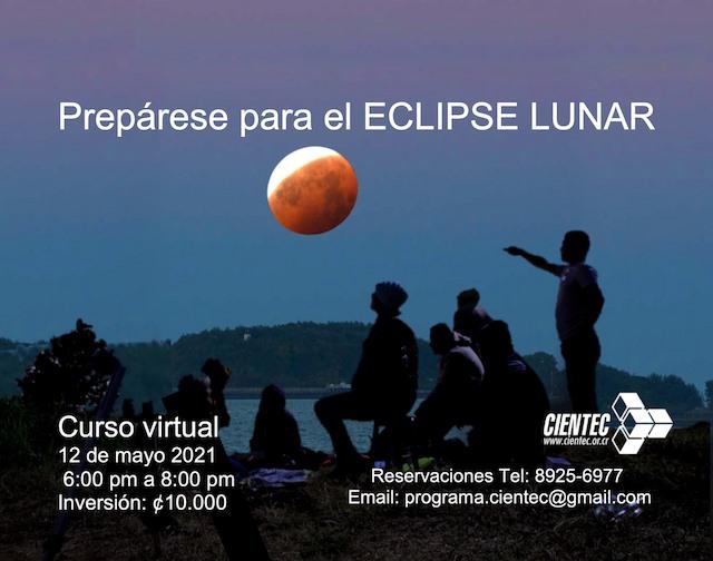 Curso preparatorio Eclipse Total de Luna