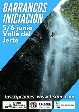Cursos de Iniciación al Descenso de Barrancos!!!