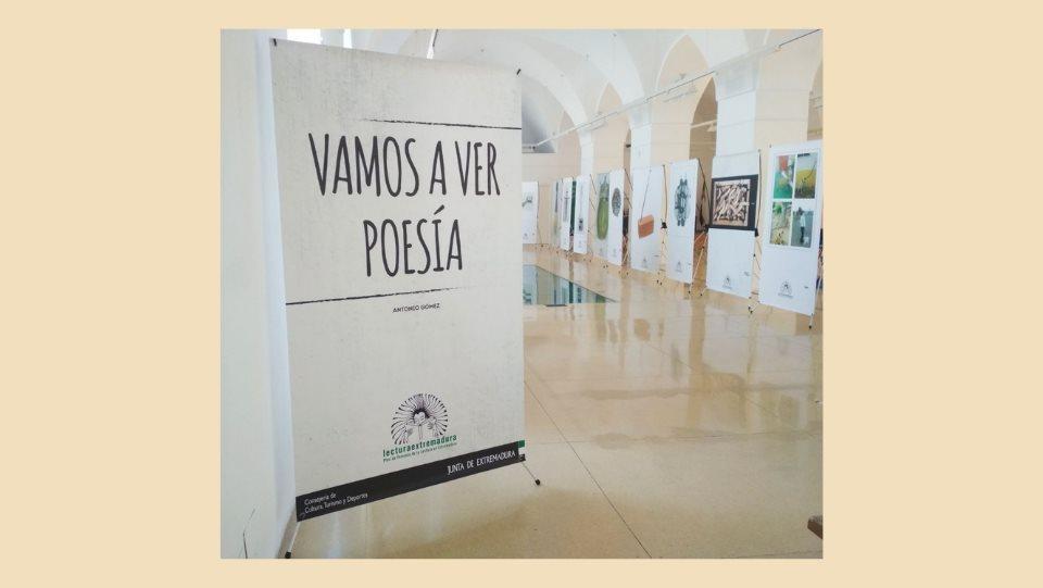 Exposición 'Vamos a ver poesía' de Antonio Gómez García