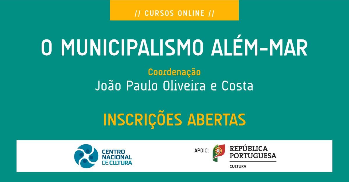 [Curso online] O Municipalismo além-mar