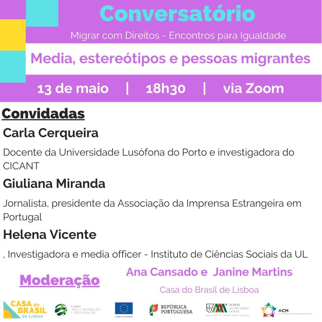 Conversatório Migrar com Direitos
