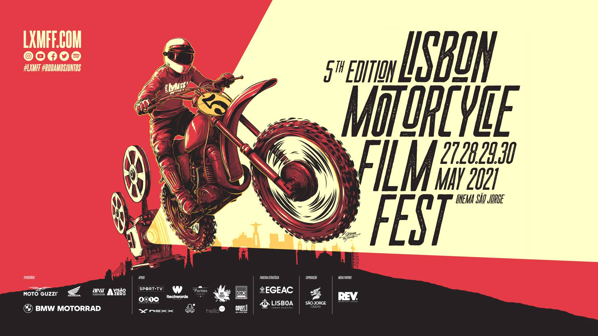 Lisbon Motorcycle Film Fest 2021