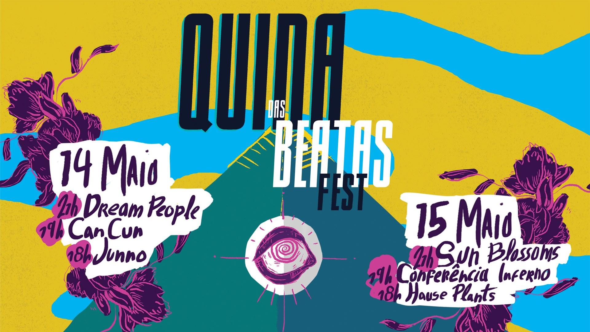 Quina das Beatas Fest :: 14 + 15 Maio :: CAE Portalegre