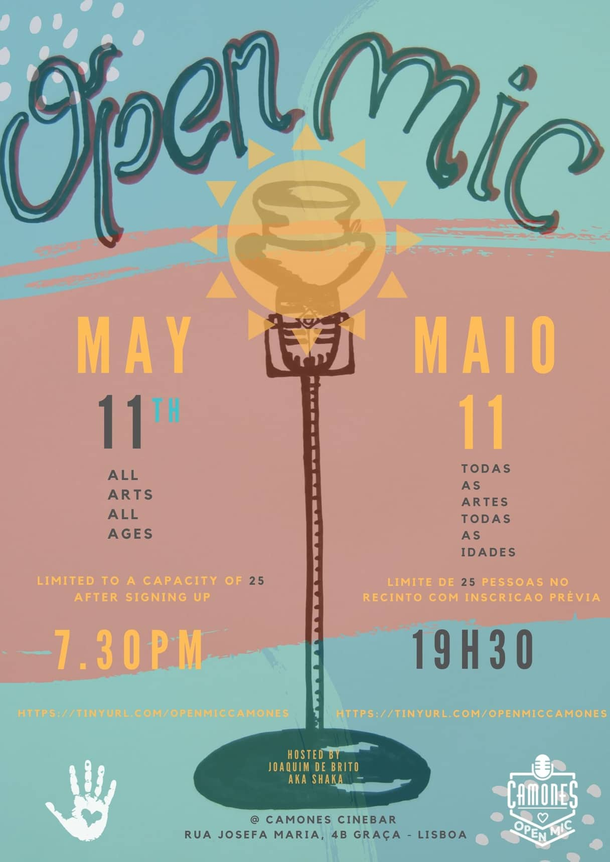 Open Mic - 66ª edição - All Arts, All Ages