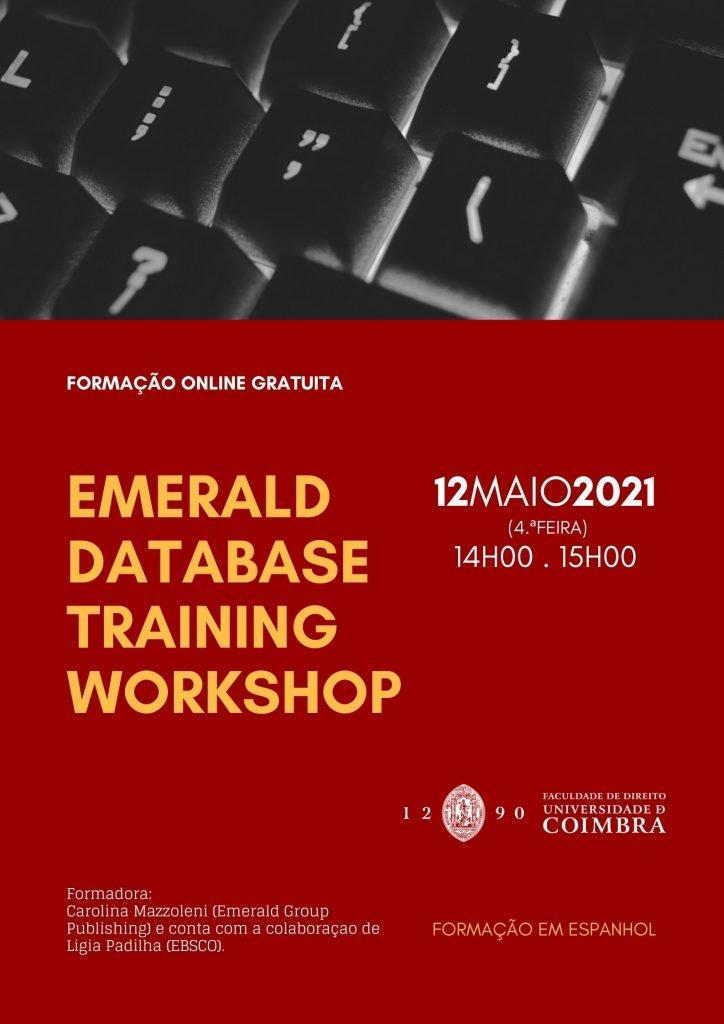 EMERALD DATABASE TRAINING WORKSHOP – Formação Online