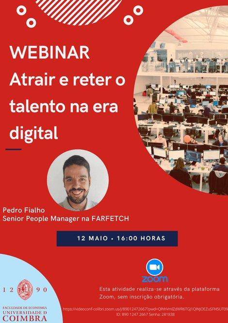 Webinar: Atrair e reter talento na era digital