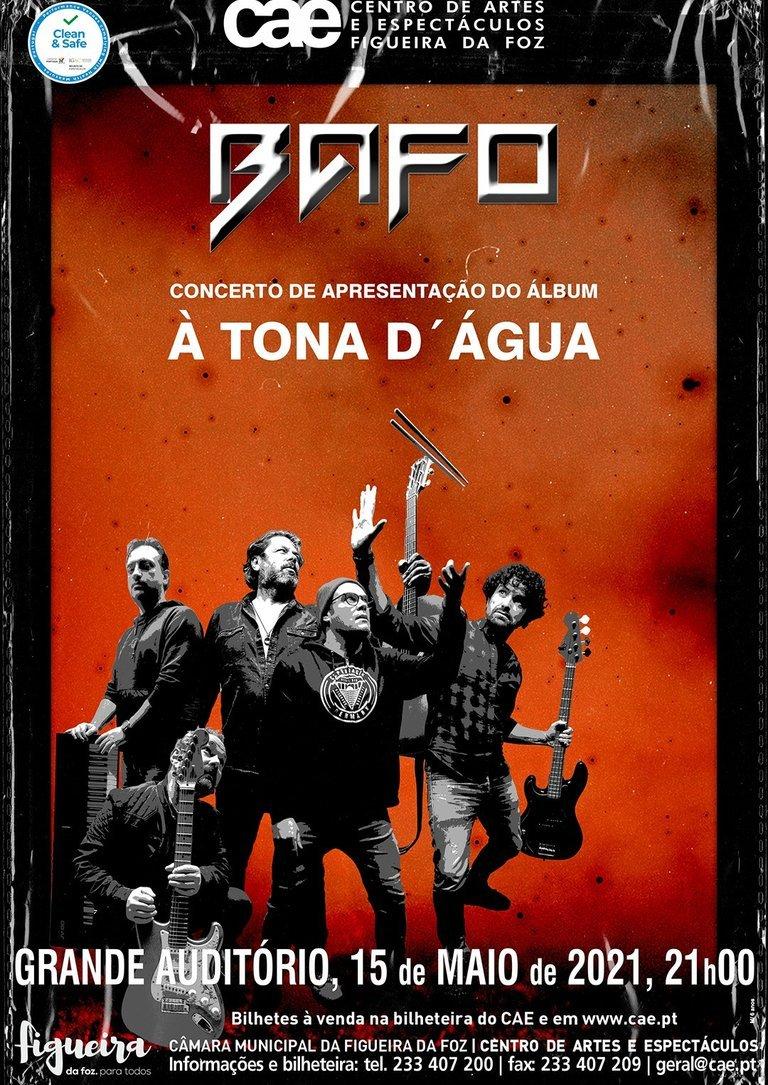 """BAFO Concerto de apresentação do álbum 'À Tona d´Água"""""""