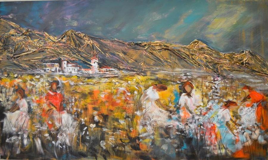 """Exposição de pintura """"Senses of the Soul"""", de Mia Costa"""