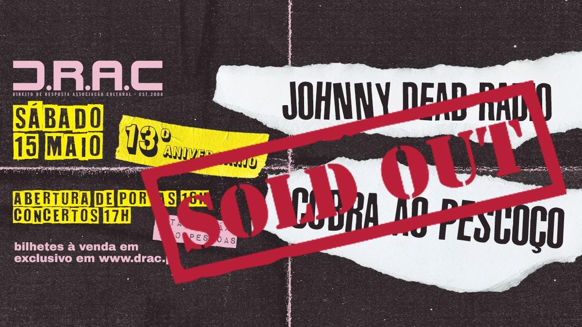 13 ANOS DE DRAC   Johnny Dead Radio + Cobra Ao Pescoço