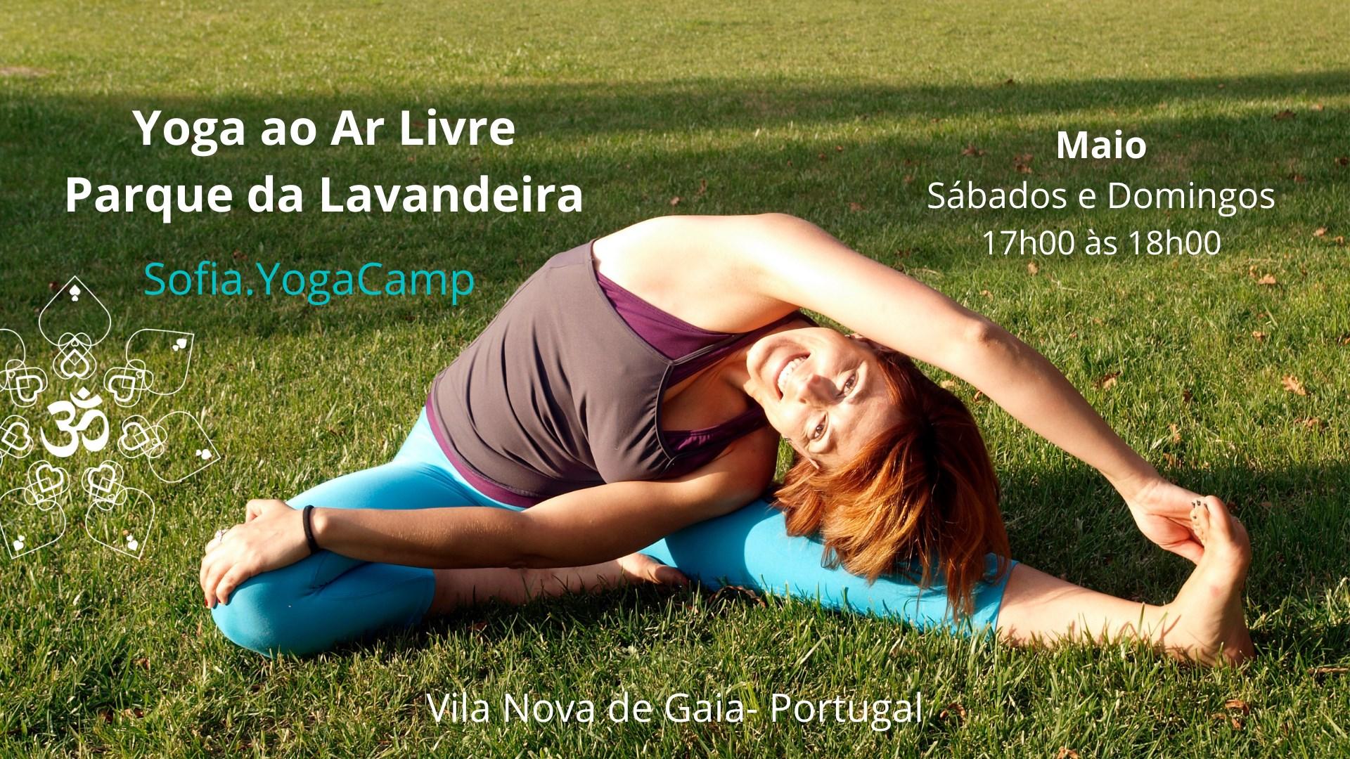 Yoga ao Ar Livre - Parque da Lavandeira