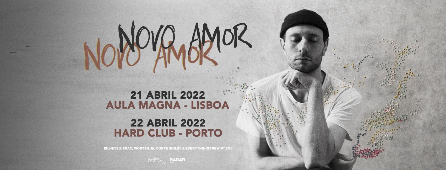 NOVO AMOR // HARD CLUB