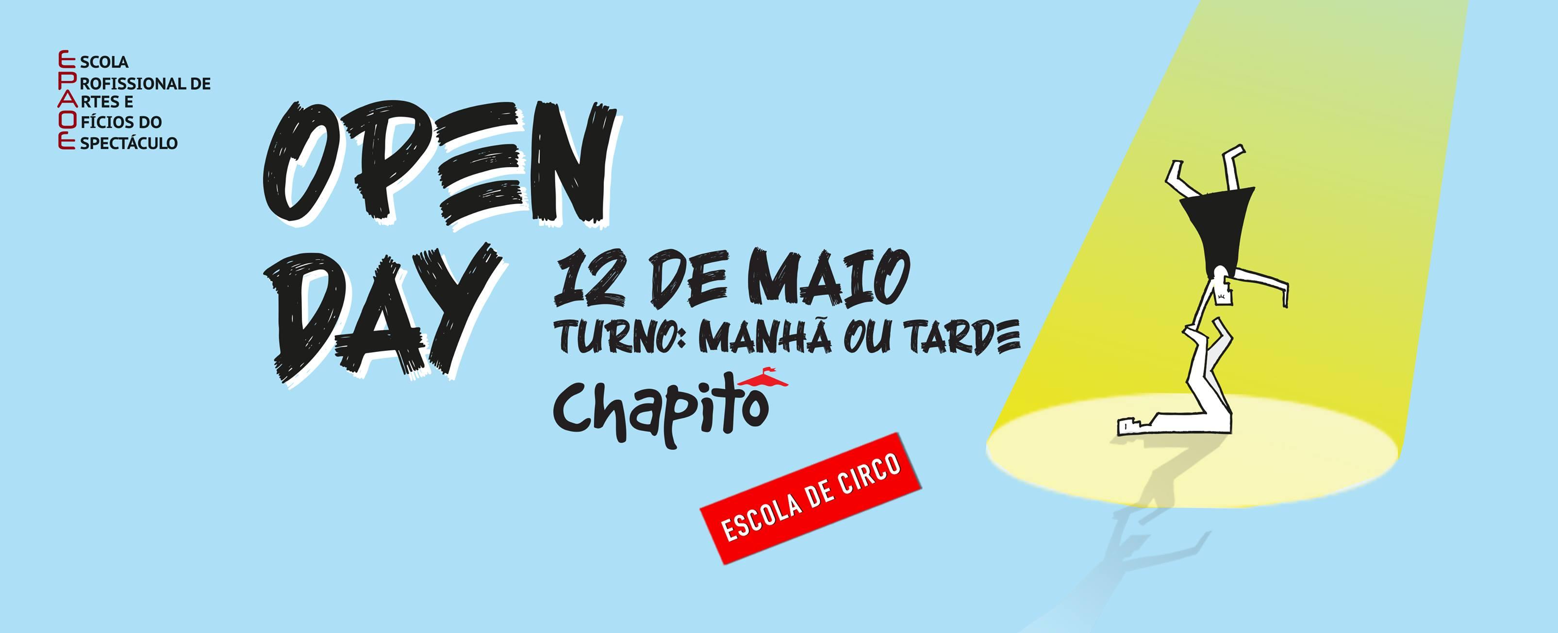 Open Day - Venha conhecer a Escola de Circo do Chapitô