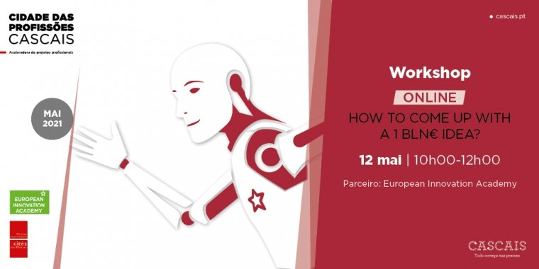How to come up with a 1 BLN€ IDEA? (workshop in English)