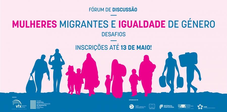 """Fórum de Discussão """"Mulheres Migrantes e Igualdade de Género – Desafios"""""""