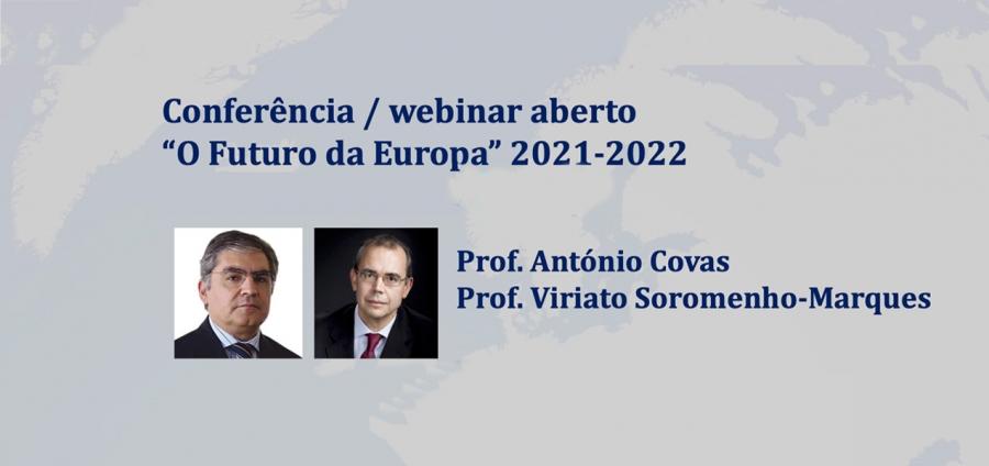 Conferência 'O Futuro da Europa