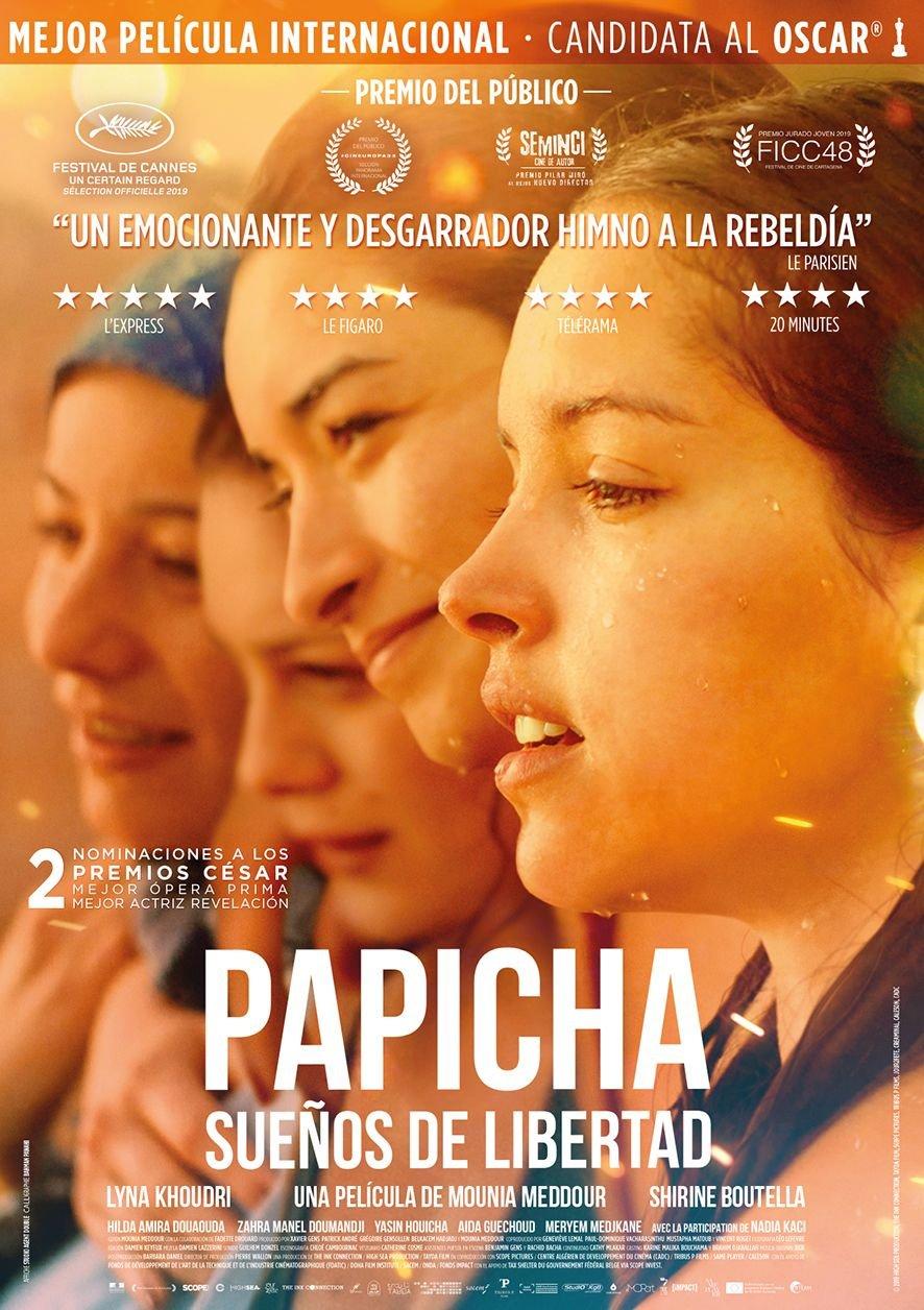 Cine Filmoteca: «Papicha, sueños de libertad»